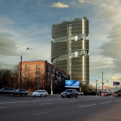 Office center, Kiev, Novokonstantinovskaya